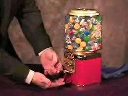Gumball Machine Rings Vending Amazing Ring In Automaat Truc Ring In Gumball Machine Illusion Available
