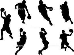 シルエット バスケットボール イラスト素材 417715 フォトライブ