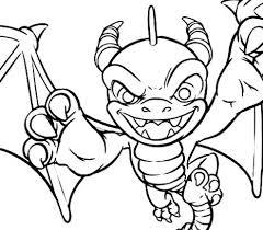 Skylanders Imaginators Coloring Pages At Getdrawingscom Free For