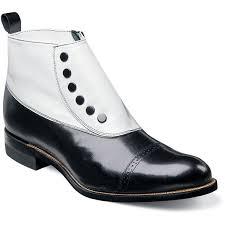 edwardian men s shoes boots 1900 1910s madison stacy adams mens madison cap toe