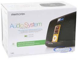 memorex miblk mi black iphone ipod speaker system product memorex mi3021blk