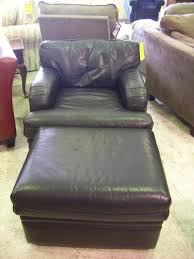 large size of leather chair leather chair and a half with ottoman microfiber chair and