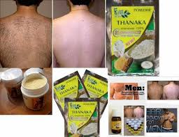 ayurvedic thanaka powder and kusumba oil from burma country an 400 year old traditional permanent hair removal bination