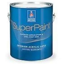 Sherwin Williams Paint Quality Chart Sherwin Williams Superpaint Interior Acrylic Latex Paint