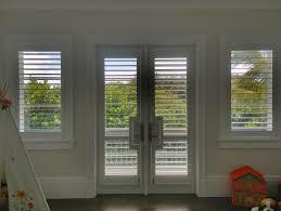 20 jul french door rectangular cutout wood shutters