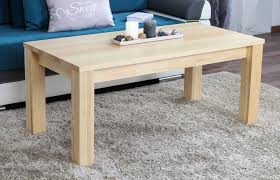 coffee table solid natural pine wood junco 483 dimensions 50 x 120 x 60 cm