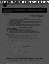 resume style examples resume templates sample styles by pyj cover cover letter resume style examples resume templates sample styles by pyjresume styles examples