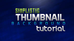 photoshop thumbnail photoshop clean thumbnail background tutorial youtube