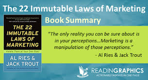 22 Immutable Laws Of Marketing Book Summary The 22 Immutable Laws Of Marketing Violate