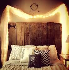 diy wooden headboard with curtain lights headboard lights ikea