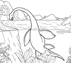 Sea Serpent Coloring Pages At Getcoloringscom Free Printable