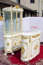 White home bar furniture Modern Portable Home Coleman Furniture White And Gold Colour European Style Wooden Home Bar Furniture Set