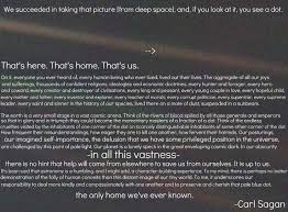 Pale Blue Dot Quote Adorable Atheist Quote Bot On Twitter Carl Sagan's Pale Blue Dot Speech