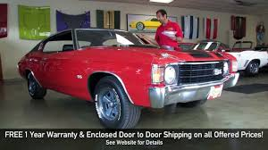 1972 Chevrolet Chevelle SS 396 for sale with test drive, driving ...