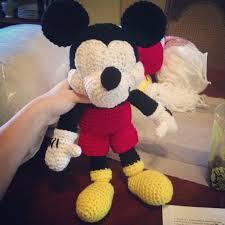 Mickey Mouse Crochet Pattern Free
