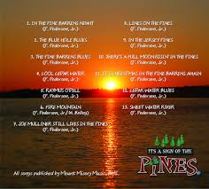 Cd Song List Lines On The Pines The Cd Songs By Paul Evans Pedersen And Cookie