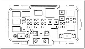 2004 acura mdx fuse box diagram image details 2004 acura tl fuse box diagram