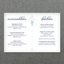 wedding accommodations template deco scroll wedding reception card template download print