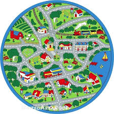 kid road rugs round rug play road driving time street car kids city fun time size kid road rugs