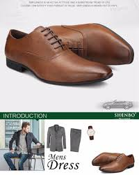 shenbo brand leather men derby shoes casual brown men oxford soft leather oxford shoes for men men dress shoes