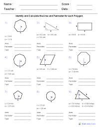 Geometry Worksheets | Geometry Worksheets for Practice and Study