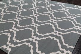 rugsville ocean wool dhurrie rug 5 x 8