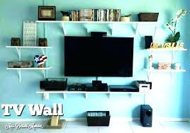 tv wall shelves wall shelves for components floating shelves around floating shelf for shelves around wall