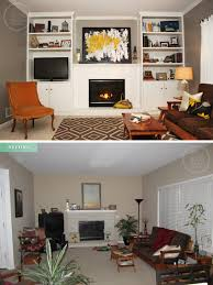 Makeover Living Room Living Room Makeover On A Budget Before And After Make