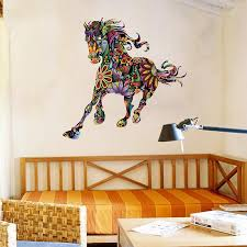 galloping charger horse wall art decal on horse wall art decal with galloping charger horse wall art decal thriveblue