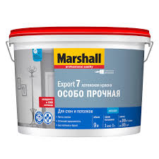 <b>Краска Marshall EXPORT 7</b> , 9 л база BW купить по цене 2935 руб ...
