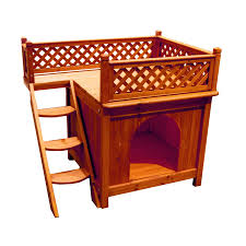 merry pet small wood dog house