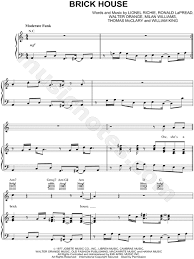 Brick House Horn Chart