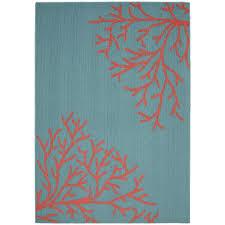 garland rug sea c teal santa fe c 5 ft x 7 ft