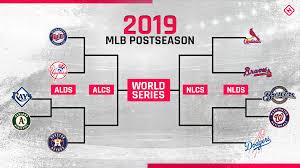 Mlb Chart Standings Mlb Playoffs Schedule 2019 Full Bracket Dates Times Tv
