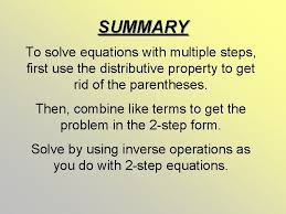3 solve multistep 6 equations 4 x 3