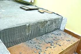 easiest way to remove tile from concrete floor concrete slab removal tile floor removal cost remove