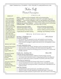 Medical Tr Photography Gallery Sites Medical Transcription Resume