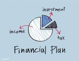 Credit Score Pie Chart Financial Plan Pie Chart Illustration Free Image By