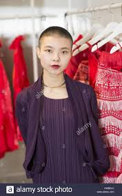 Angel Fashion Design Shanghai Shanghai China 19th Oct 2016 Young Chinese