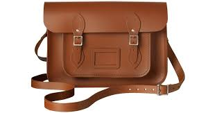 cambridge satchel company the classic 13 leather satchel bag in brown lyst