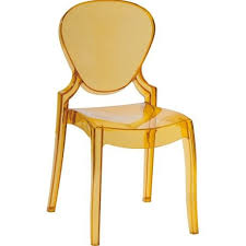 plastic clear Queen 650 Chair transparent plastic queen chair dining