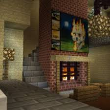 How To Build A Working Fireplace That Turns On And Off In Fireplace In Minecraft