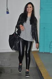 chantelle houghton seen outside the itv this morning studios