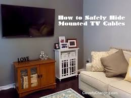 DIY How to Hide Cable Cords
