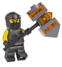 Lego ninjago: Cole Sons Von Garmadon mit Hammer