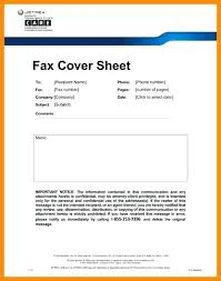 fax cover sheet medical fax cover sheet disclaimer sample 5 seall co