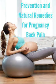 pregnancy back pain relief exercise