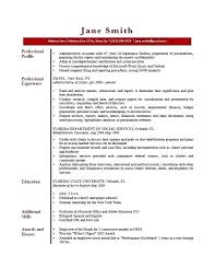 Cv Template Personal Profile Example Of On Resume Skincense Co