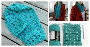 diy crochet cube infinity scarf