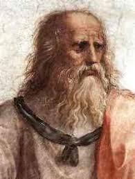 Рафаэль Афинская школа Платон и Аристотель Платон